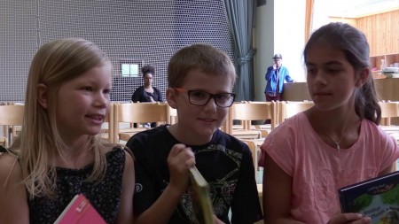 """Lesen macht Freude"" Soroptimistinnen Projekt an der VS Lassnitz"