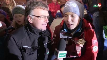 Empfang unserer Weltmeisterin Nici Schmidhofer im Lachtal