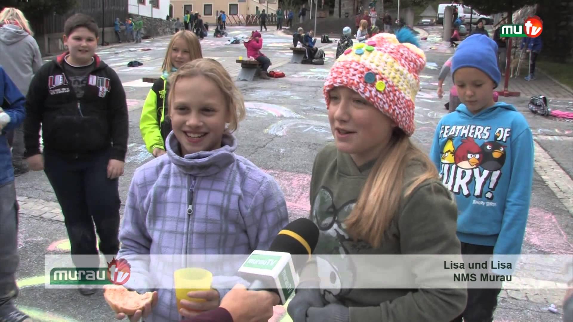 """Straßenmalwettbewerb """"Blühende Straße"""""""