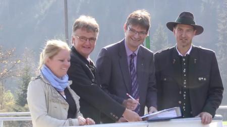 Wasserkraftwerk Oberwölz eröffnet