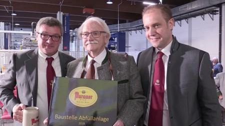 Murauer Bier: Eröffnung der neuen Abfüllhalle