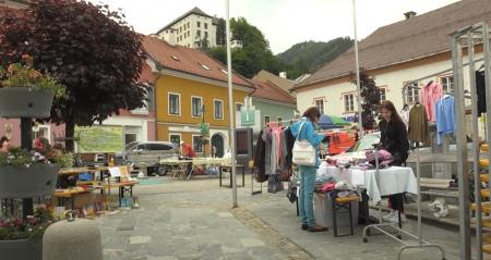 Flohmarkt am Hauptplatz