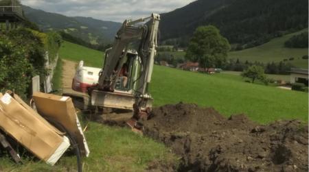 Breitband-FTTH-Ausbau der Murauer Stadtwerke in der Gemeinde Ranten