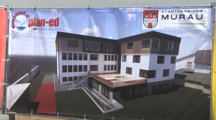 Spatenstich Sanierung Schulungszentrum Murau