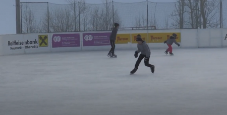 Eislaufsaison in St. Peter am Kammersberg eröffnet