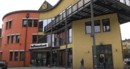 Bankstellenumbau bei Raiffeisenbank Murau