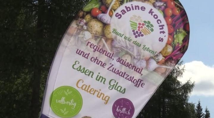 Sabine kochts auf der Frauenalpe im Alpengasthof Krische