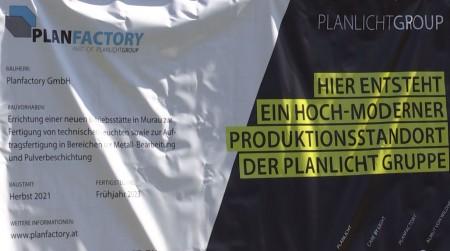 Spatenstich von Planfactory in Murau